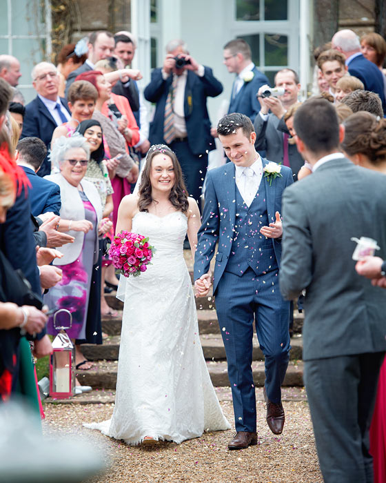 Wedding Photography Bridgwater in St Audries Park